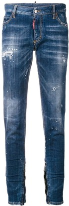 DSQUARED2 Low Rise Skinny Jeans