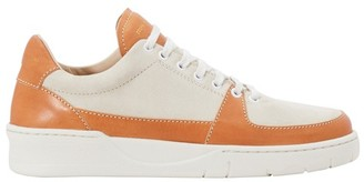 Zespà Vegan leather and suede sneakers