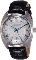 Stuhrling Original Men's 728.01 Symphony Aristocrat Twenty Swiss Quartz Date Dial Watch