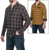 Jeremiah Hayes Indigo Reversible Shirt Jacket - Snap Front, Long Sleeve (For Men)