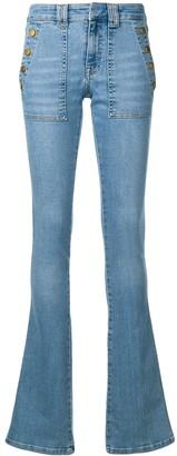 Victoria Victoria Beckham Slim Flared Jean