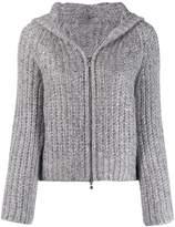 D-Exterior D.Exterior chunky knit jacket