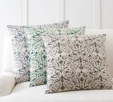 Pottery Barn Reilly Embroidered Pillow Cover