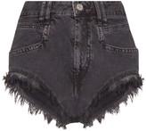 Isabel Marant distressed denim shorts