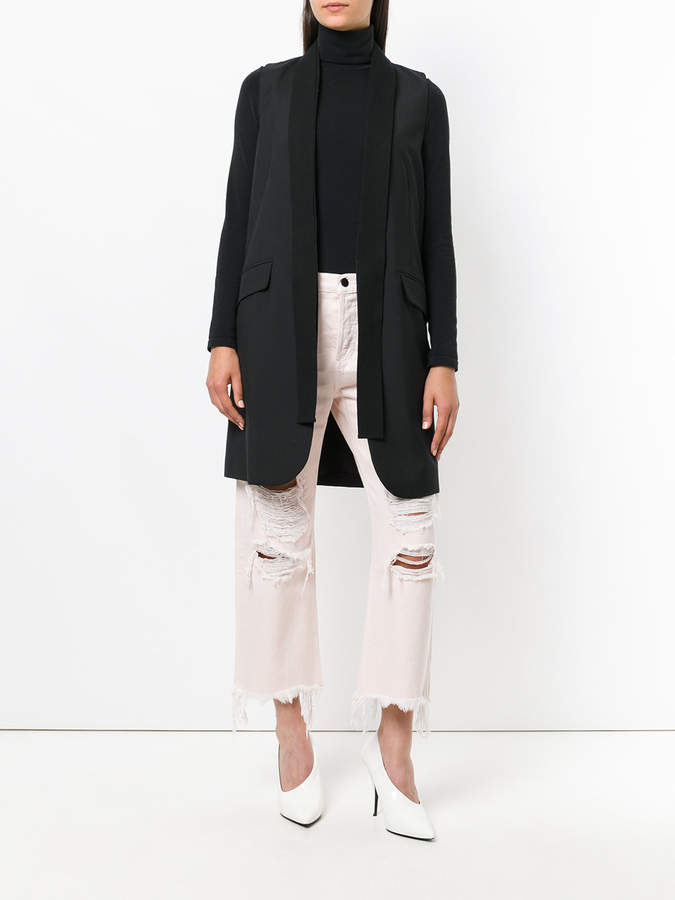 Alexander Wang Rival w destroyed jeans