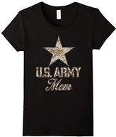 Women's U.S. Army Mom T-Shirt (Camo) XL