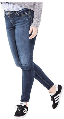 Silver Jeans Co. Plus Size Suki Super Skinny Jeans in Indigo W93023SSX492 (Indigo) Women's Jeans