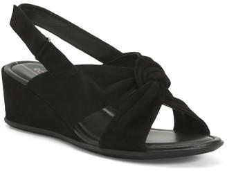 Comfort Suede Wedge Sandals