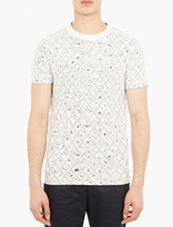 Maison Margiela Off-White Thread Layered T-Shirt