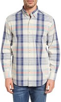 Tommy Bahama Men's Papa Standard Fit Plaid Sport Shirt