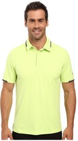 Puma Short Sleeve Tailored Snap Polo