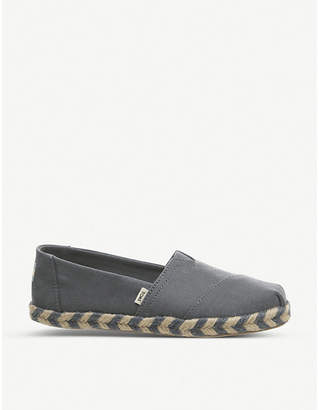 Office Alpargata Rope canvas shoes