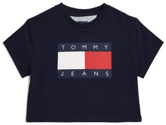 Tommy Hilfiger Junior Tommy Jeans Flag Logo T-Shirt