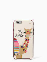 Kate Spade Jeweled camel iphone 6 case
