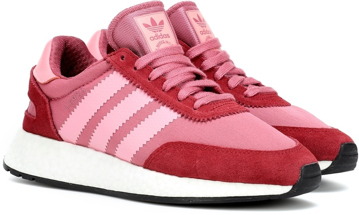 adidas 1-5923 Suede-Trimmed Sneakers