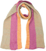 Dries Van Noten Wool Rib Knit Scarf