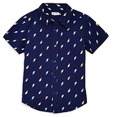 Splendid Boys' Lightning Print Woven Shirt - Little Kid