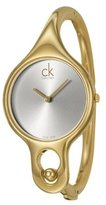 Calvin Klein Women's Air K1N23526 Gold Stainless-Steel Analog Quartz Watch with Dial