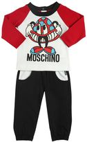 Moschino Mushroom Cotton Jersey T-Shirt & Pants