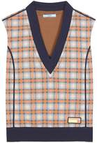 Prada Checked sweater vest