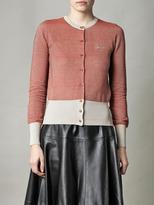 Vivienne Westwood Honeycomb knit cardigan
