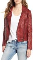 Blank NYC Women's Blanknyc Genuine Leather Moto Jacket