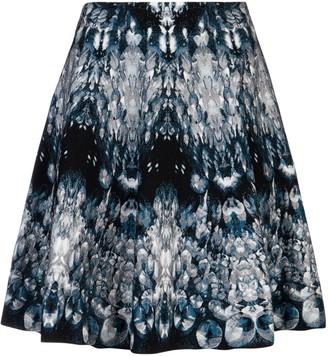 Alexander McQueen Crystal Patterned Mini Skirt