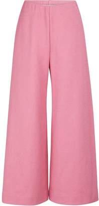 Harris Wharf London Wide cotton pants