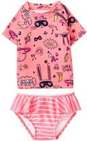 Gymboree Scribble Rashguard Set