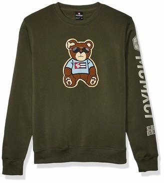 Southpole Men's Fleece Crewneck Sweatshirt