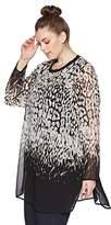 Calvin Klein Women's Plus Size Printed Long Tunic