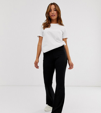 ASOS DESIGN Petite Basic Kick Flare Leggings