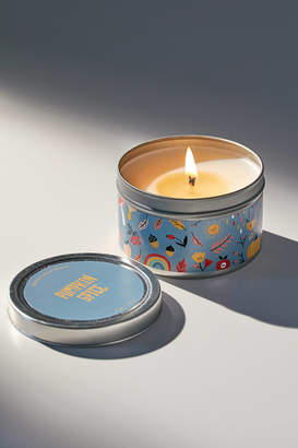 Urban Outfitters Holiday Artist Print Tin Candle