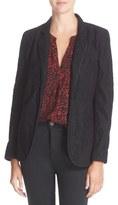 Joie Mehira Lace One-Button Blazer
