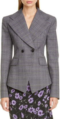Michael Kors Collection Cutaway Double Breasted Jacket