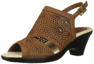 Easy Street Shoes Women's Linda Slingback Dress Casual Sandal with Cutouts Sandal