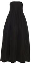ADAM by Adam Lippes Strapless silk-faille gown