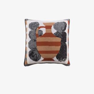 SAVED NY X Wayne Pate multicoloured Urn cushion
