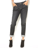 Eileen Fisher Vintage Black Wash Boyfriend Jeans