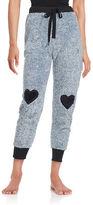 Roudelain Faux Fur Jogger Pants