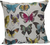 JCPenney Brentwood Originals Painted Lady Embroidered Decorative Pillow
