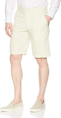 """Izod Men's Saltwater 10.5"""" Flat Front Poplin Short"""