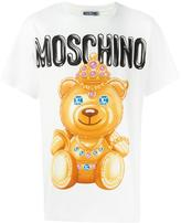 Moschino bear print T-shirt - men - Cotton - XS