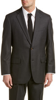 Brooks Brothers Madison Classic Fit Wool Suit With Pleated Pant