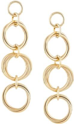 Magda Butrym Triple Hoop Earrings