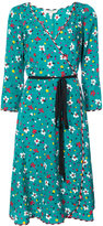 Marc Jacobs floral wrap dress - women - Silk - 0