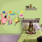 Fathead SpongeBob SquarePants and Patrick Wall Decals by