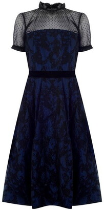 Perseverance Two tone Brocade Dress