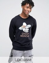 Cheap Monday Skull Hat Sweater