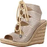 Johnston & Murphy Women's Mandy Espadrille Wedge Sandal,7 M US
